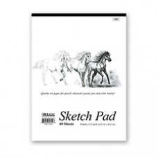 "40 Ct. 9"" x 12"" Premium Sketch Pad"