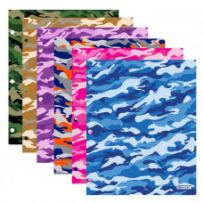 Camouflage 2-Pockets Portfolio (Sold individually)